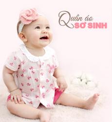 Quần áo sơ sinh bé gái concung.com