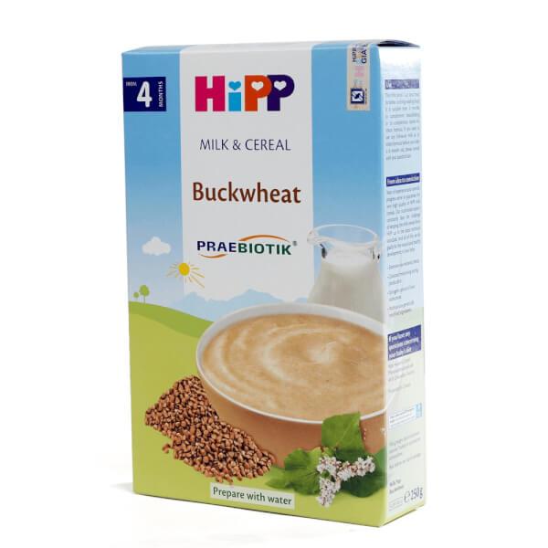 Bột sữa dinh dưỡng HiPP bổ sung Praebiotik - Bột ăn dặm kiều mạch 250g