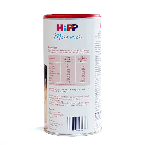 Trà cốm hoà tan HiPP dành cho phụ nữ cho con bú 200g
