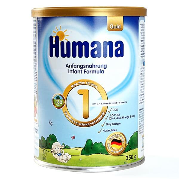 Sữa Humana Gold số 1 350g (0-6 tháng)