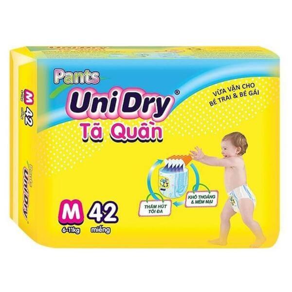 Tã quần Unidry Jumbo (M, 6-11 Kg, 42 miếng)