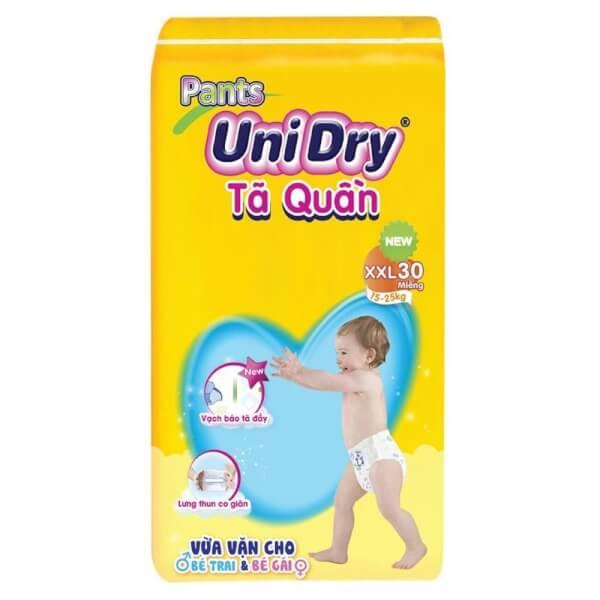 Tã quần Unidry XXL, 15-25kg, 30 miếng