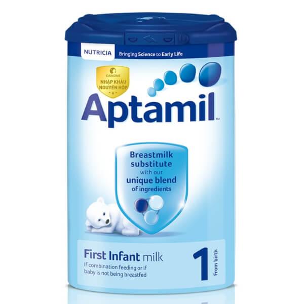 Sữa Aptamil Anh số 1 900g (0-6 tháng)
