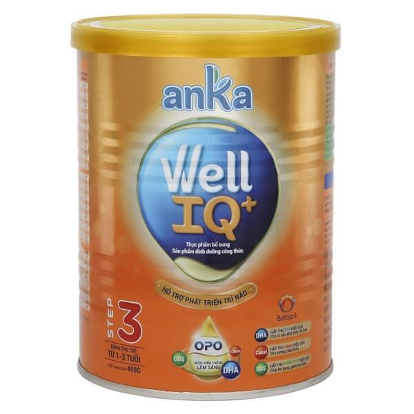 Sữa bột Anka Well IQ+ Step 3, 400g