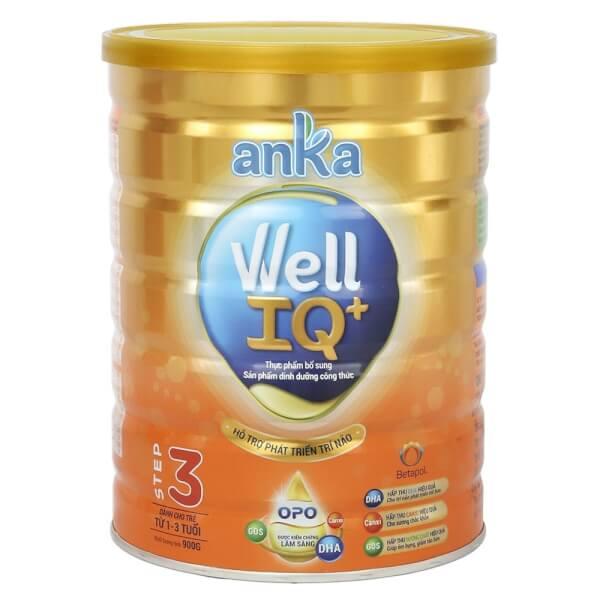 Sữa bột Anka Well IQ+ Step 3, 900g