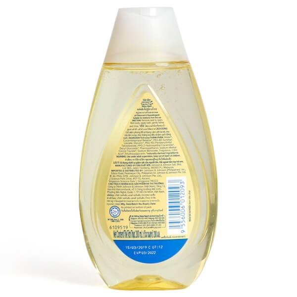 Sữa tắm gội toàn thân Johnson Baby 200ml