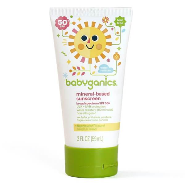 Kem chống nắng cho bé Babyganics SPF50 59ml