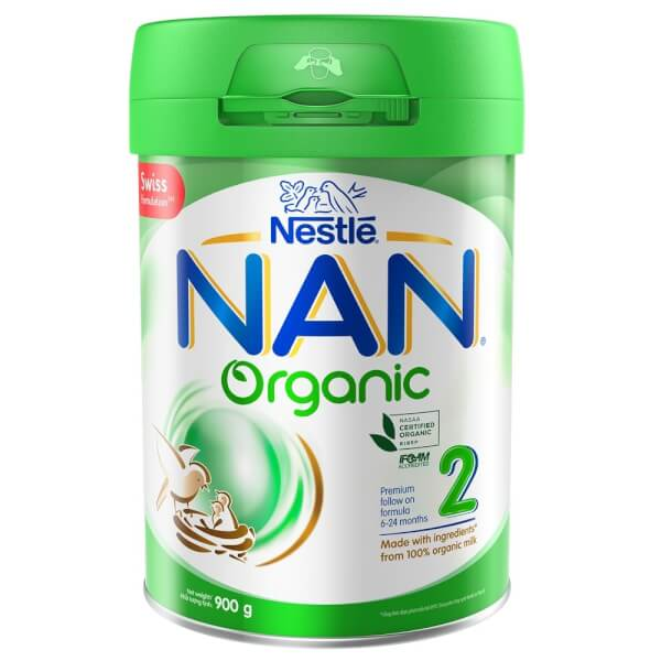 Sữa Nan Organic 2 900g (6-24 tháng)