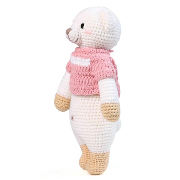Gấu Lizzie đứng M - Bộ màu Bobi Craft