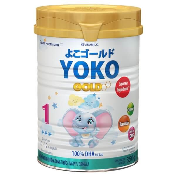 Sữa Vinamilk Yoko Gold 1 350g (0-1 tuổi)