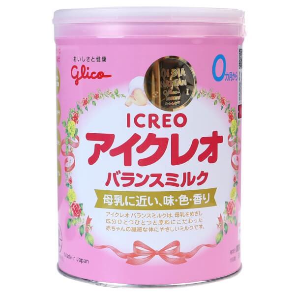 Sữa Glico Icreo số 0 800g (0-12 tháng)