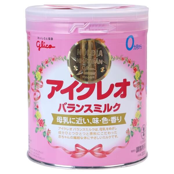 Sữa Glico Icreo số 0 320g (0-12 tháng)