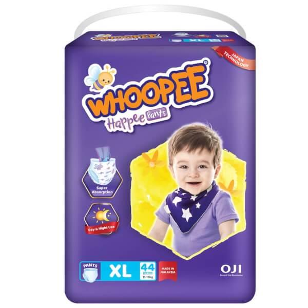 Bỉm tã quần Whoopee size XL 44 miếng (11-15kg)