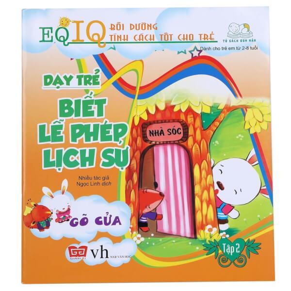 EQ-IQ Bồi dưỡng tính cách tốt cho trẻ - Dạy trẻ biết lễ phép lịch sự 2(35N) - Gõ cửa