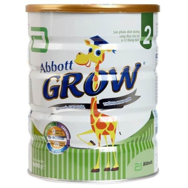 Sữa Abbott Grow 2 900g (6-12 tháng)
