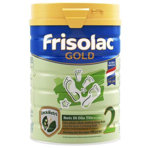 Sữa Frisolac Gold số 2 400g (6-12 tháng)