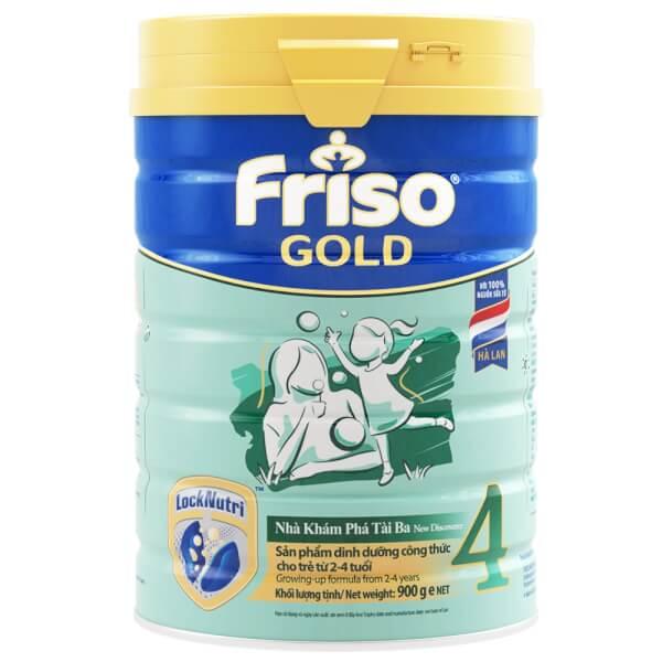 Sữa Friso Gold số 4 900g (2-4 tuổi)