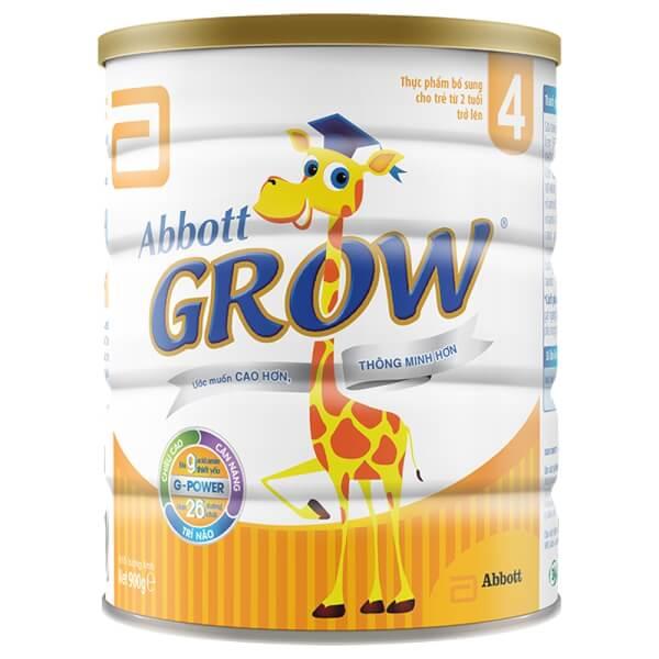 Sữa Abbott Grow 4 900g (trên 2 tuổi)
