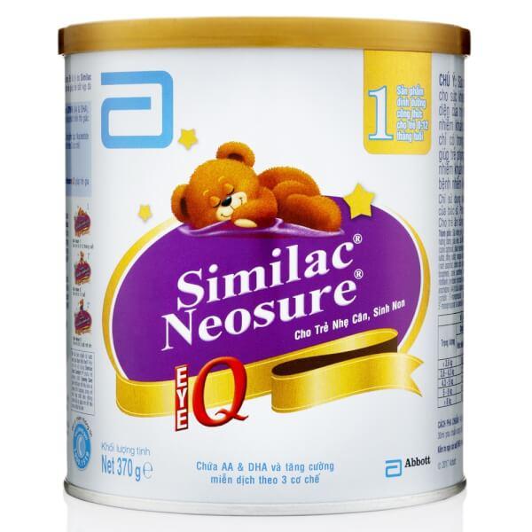 Sữa Similac Neosure 370g (0-12 tháng)