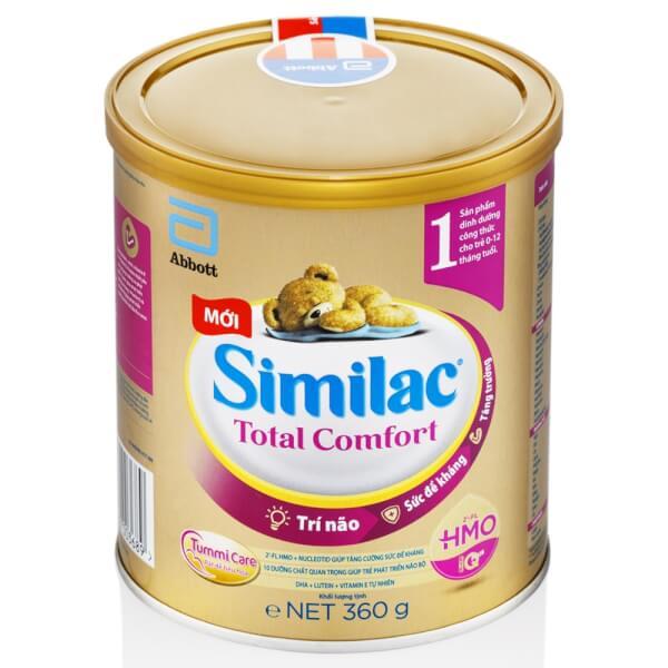 Sữa Similac Total Comfort 1 (HMO) 360g (0-12 tháng)