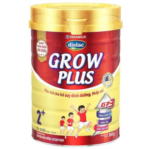 Sản phẩm dinh dưỡng Dielac Grow Plus 2+ 900g (2-10 tuổi)
