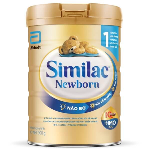 Sữa Similac Newborn Eye-Q 900g (0-6 tháng)