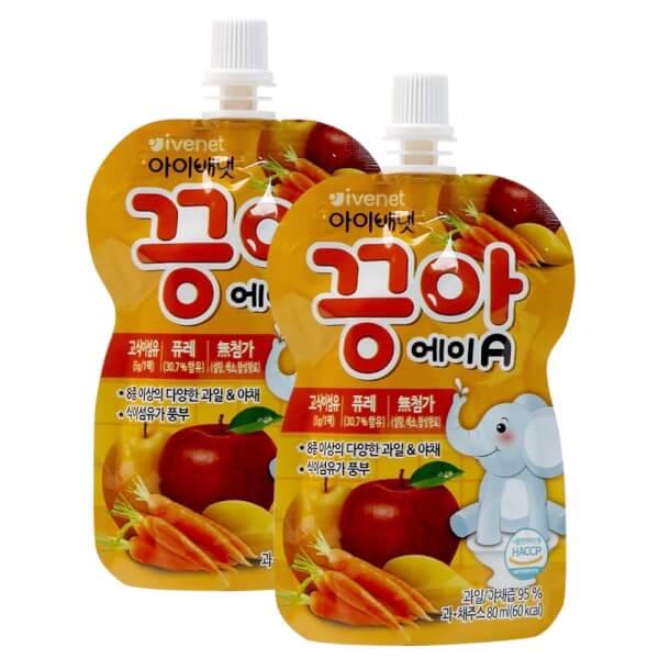 Snack sữa chua sấy khô Ivenet Bebe vị dâu