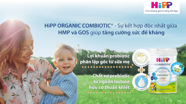 Sữa HiPP 4 Junior Combiotic 800g (từ 3 tuổi)