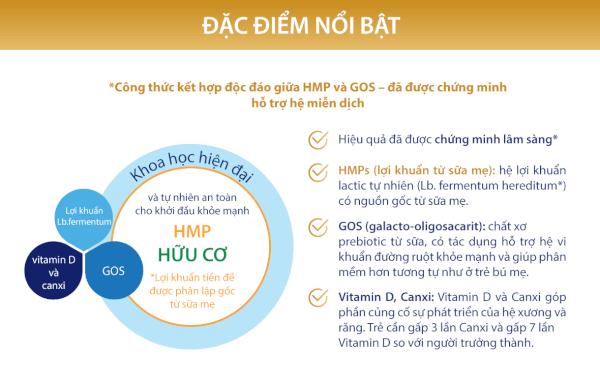 Sữa Hipp 3 Growing - up Combiotic 800g (từ 12 tháng)