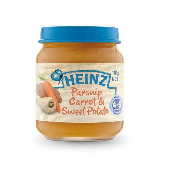 Bí đỏ khoai tây và bò nghiền cho trẻ từ 4 tháng tuổi - Heinz Pumpkin, Potato & Beef