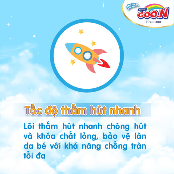 Bỉm tã quần Goon Premium size XXXL 26 miếng (18-30kg)