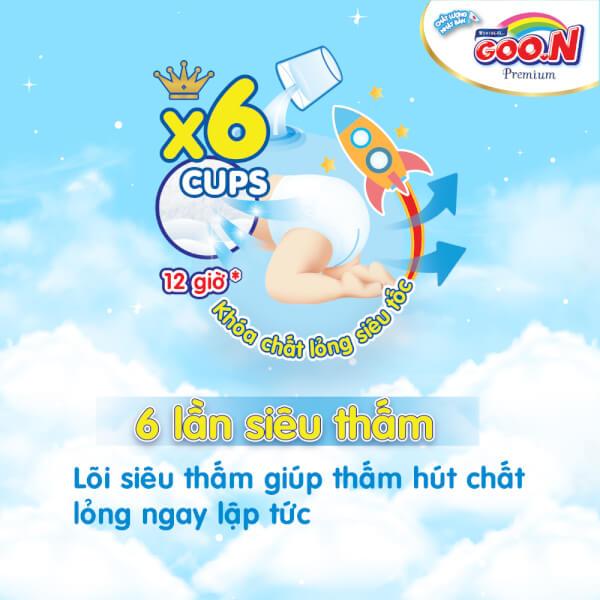 Bỉm tã quần Goon Premium size XXL 36 miếng (15-25kg)