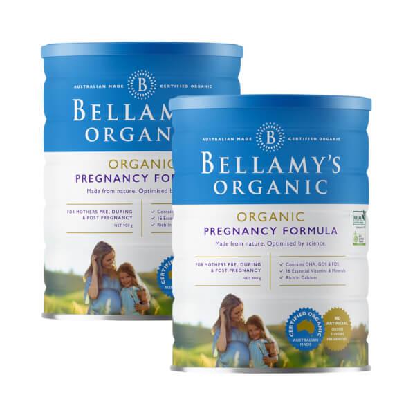 Combo 2 lon Bellamy's Organic Pregnancy Formula, 900g