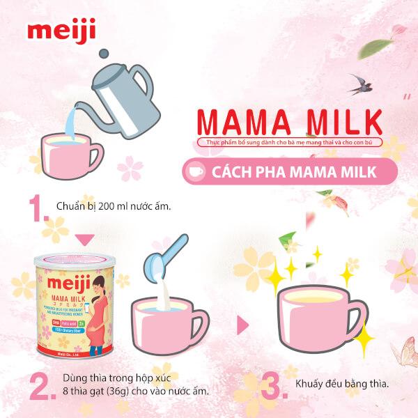 Sữa bầu Meiji mama 350g