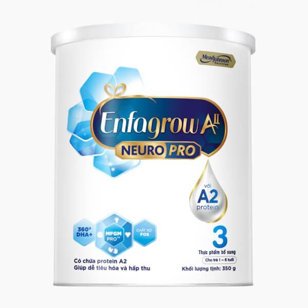 Sữa Enfagrow A2 NeuroPro số 3 350g (1 – 6 tuổi)