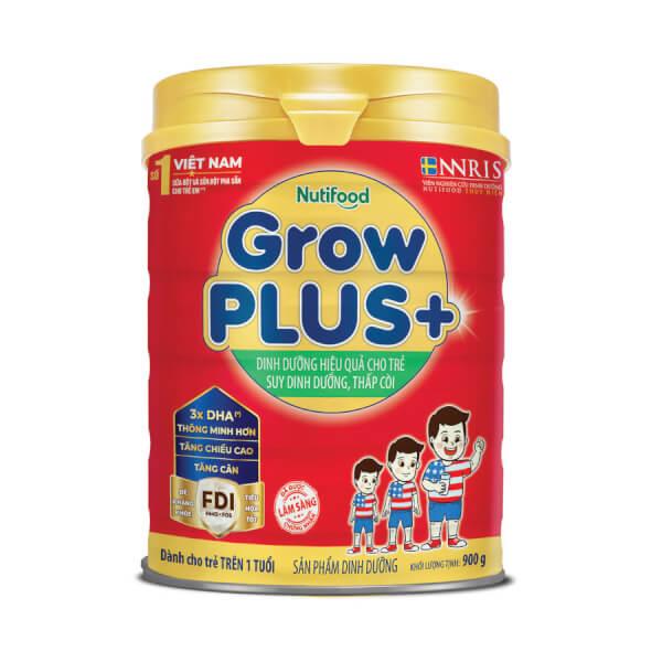 Sữa GrowPLUS+ Đỏ 900g (từ 1 tuổi)