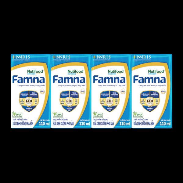Sữa nước Famna 110ml (lốc 4 hộp)