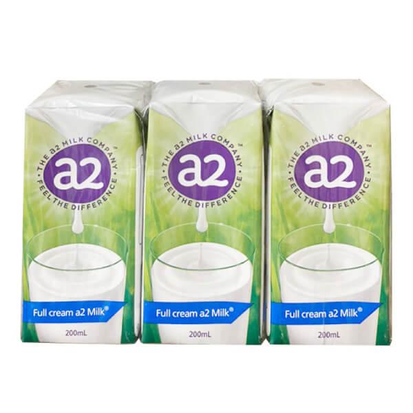 Sữa tươi tiệt trùng A2 Milk (lốc 6 hộp)