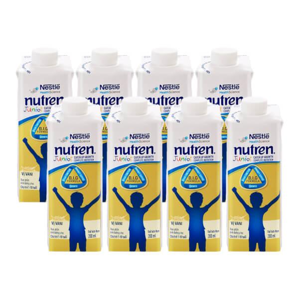 Combo 8 Thực phẩm dinh dưỡng y học Nutren Junior