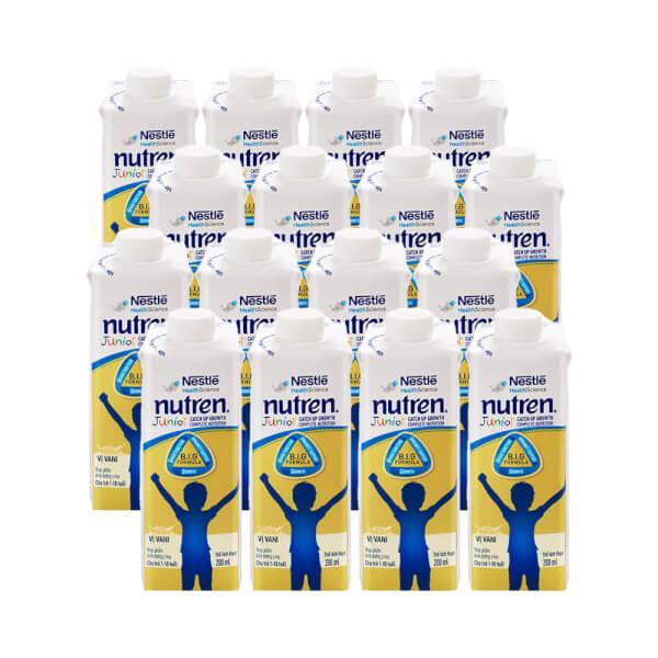 Combo 16 hộp Thực phẩm dinh dưỡng y học Nutren Junior