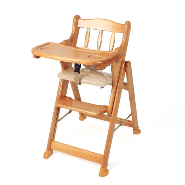 Ghế gỗ cao cấp cho bé (màu gỗ) Autoru - AUHC01