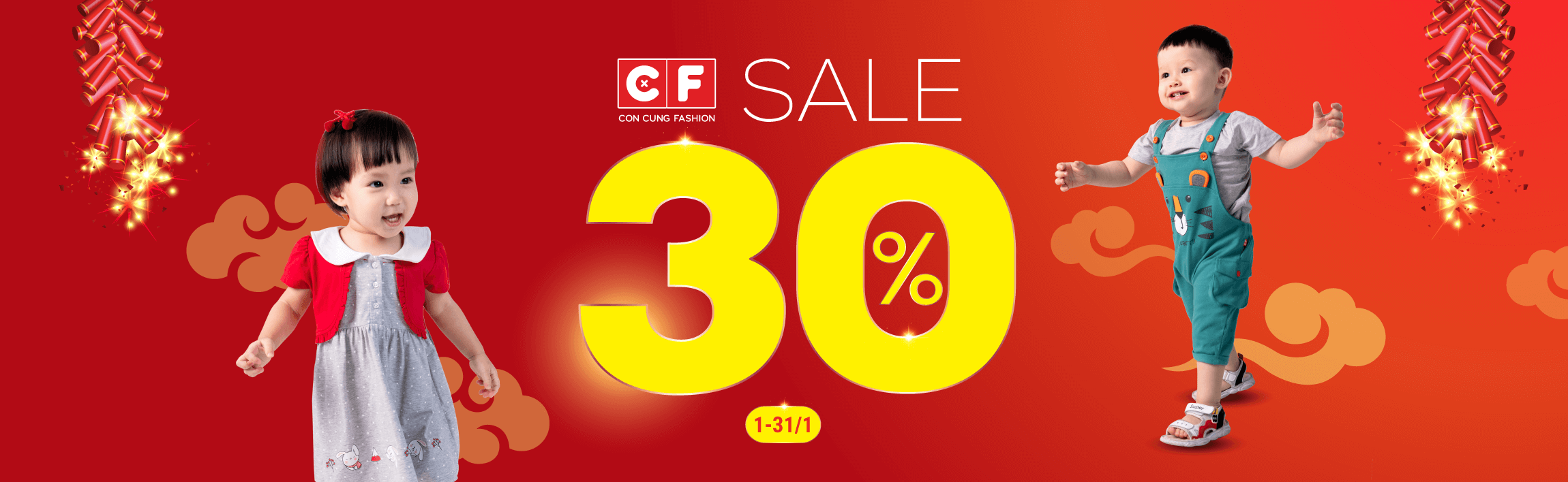 CF - Sale up to 30% 200.000 sản phẩm