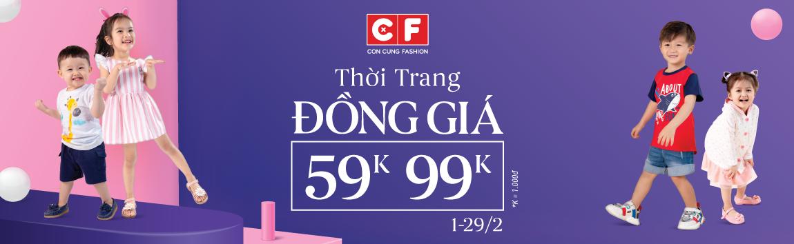 THỜI TRANG ĐỒNG GIÁ 59K - 99K