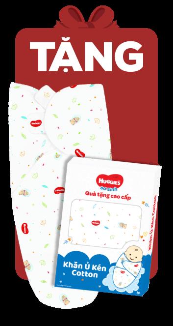 Bỉm tã dán sơ sinh Huggies Dry size S 88 miếng (4-8kg)