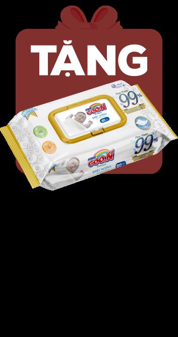 Bỉm tã quần Goon Premium size L 46 miếng (9-14kg)