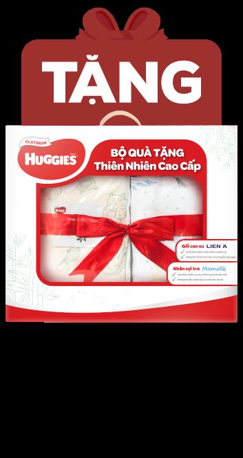 Combo 2 gói Bỉm tã quần Huggies Platinum Nature Made size XXL 26 miếng (trên 15kg)
