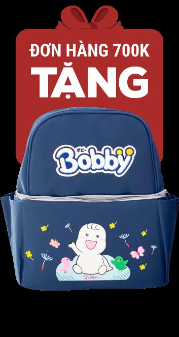 Tã dán Bobby Jumbo siêu mỏng (M, 6-10kg, 76 miếng)