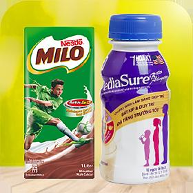 Sữa nướccác loại