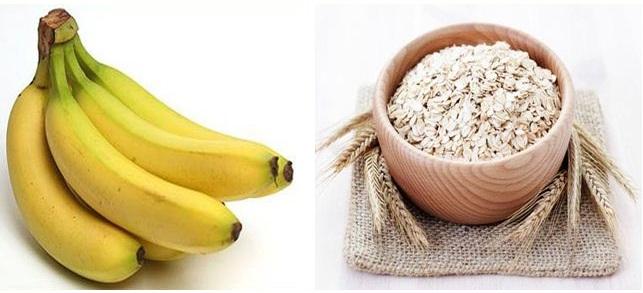 Kết quả hình ảnh cho ngũ cốc và chuối