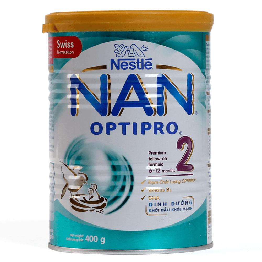 Sữa Nestle NAN Pro 2, 6-12 tháng, 400g1